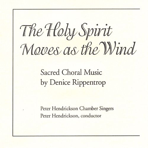 The Holy Spirit Moves as the Wind