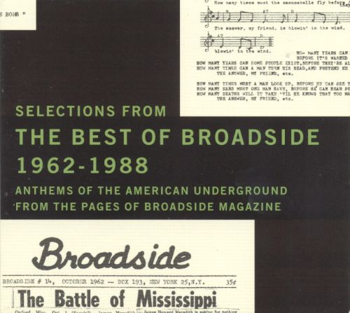 Selections from the Best of Broadside