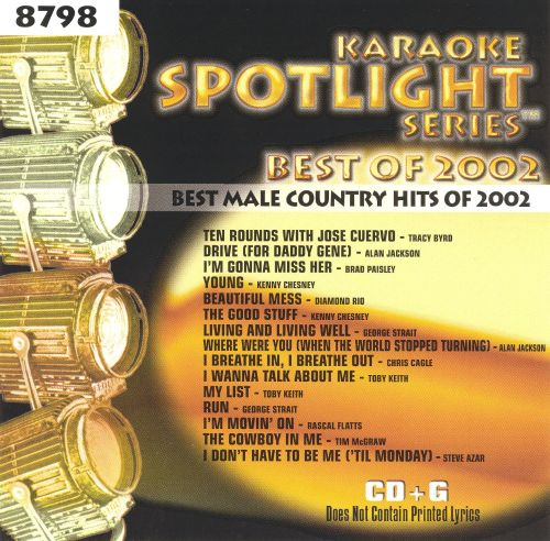Best Male Country Hits of 2002