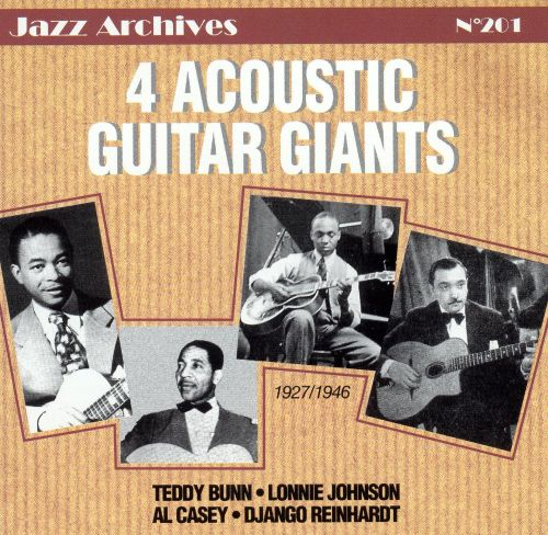 Four Acoustic Guitar Giants
