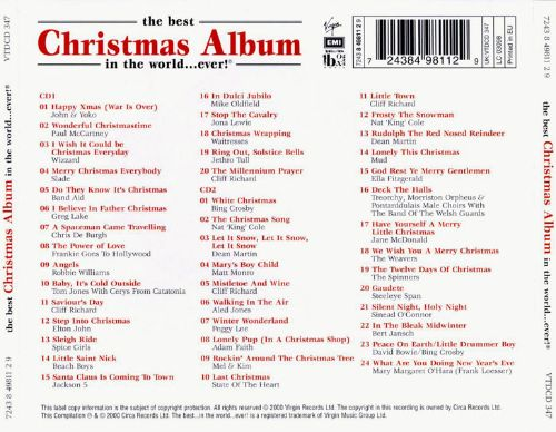 The Best Christmas Album in the World Ever [1999] - Various ...