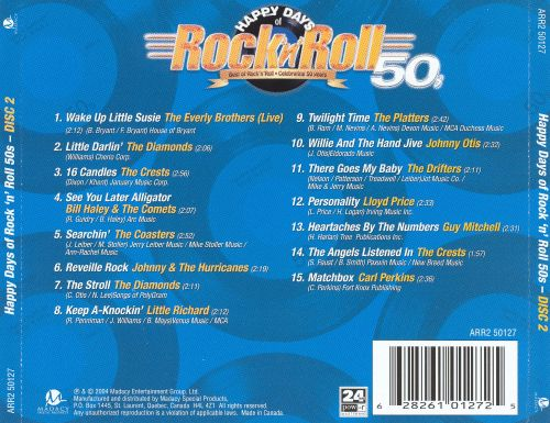 Happy Days of Rock 'n' Roll 50s - Disc 2