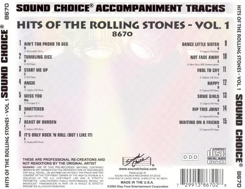 Hits of the Rolling Stones, Vol. 1