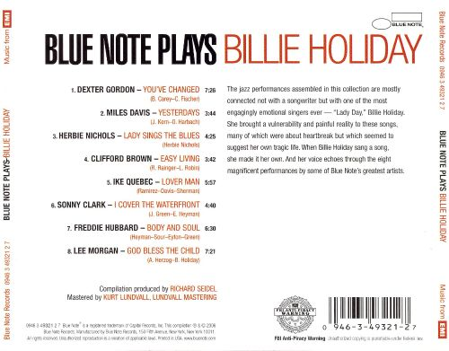 Blue Note Plays Billie Holiday