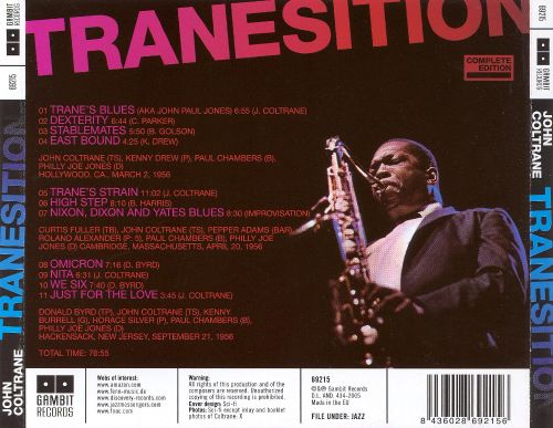 Tranesition: The Complete Paul Chambers Sessions