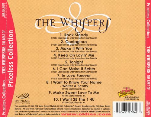 The Best of the Whispers [Collectables]