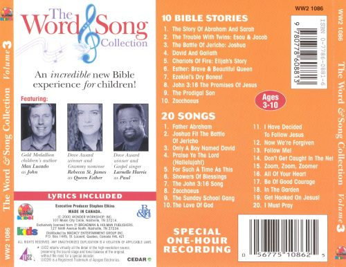 Word & Song Collection, Vol. 3