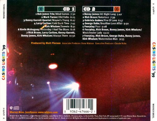 Montreux Jazz Festival >> Casino Lights '99 - Various Artists | Songs, Reviews ...