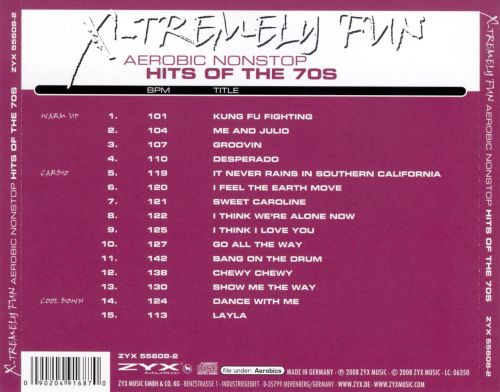X-Tremely Fun Aerobics: Hits of the 70's