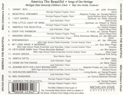 America the Beautiful: Songs of Our Heritage