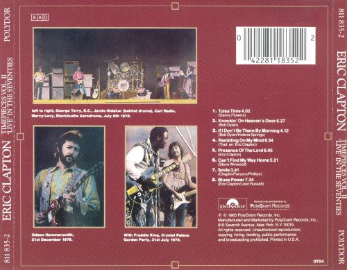 Time Pieces, Vol. 2: Live in the '70s