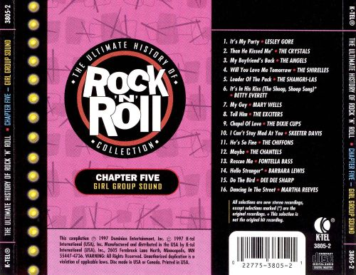 The Ultimate History of Rock & Roll Collection, Vol. 5: Girl Group Sound