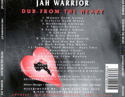 Dub from the Heart, Vol. 1