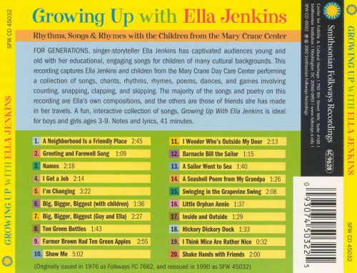 Growing Up With Ella Jenkins