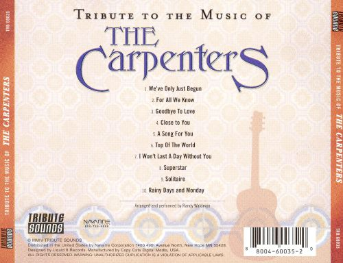 Tribute to the Music of the Carpenters