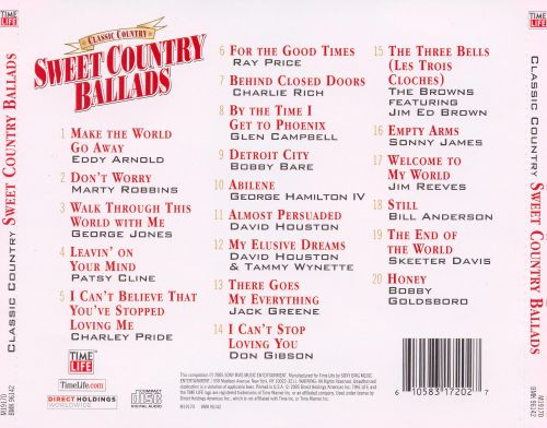 Classic Country: Sweet Country Ballads