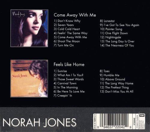 Come Away With Mefeels Like Home Norah Jones Songs Reviews
