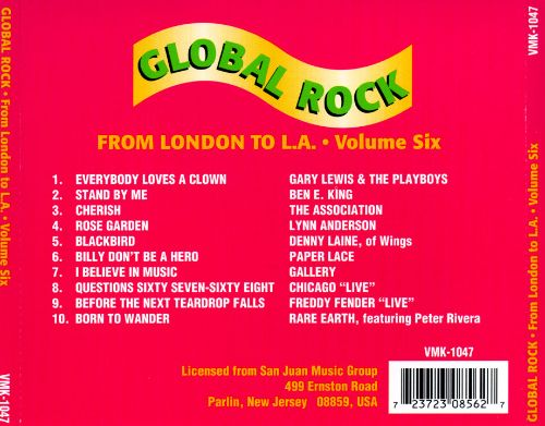 Global Rock, Vol. 6: From London to L.A.