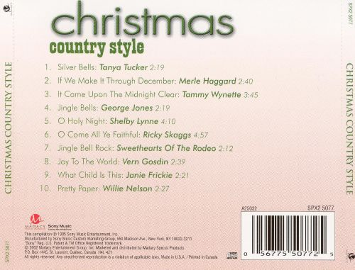 Christmas: Country Style [Madacy]