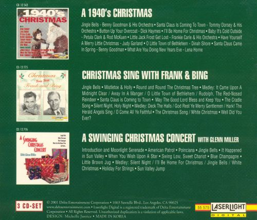 1940's Christmas [Box Set] - Various Artists | Songs, Reviews ...