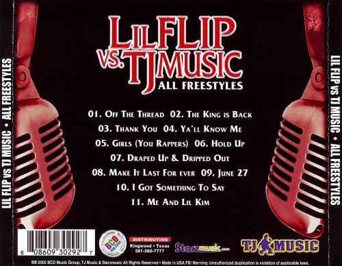 Lil Flip vs TJ Music