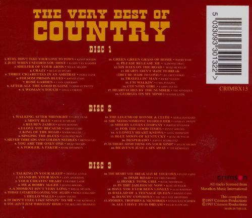 Very Best of Country [Crimson]