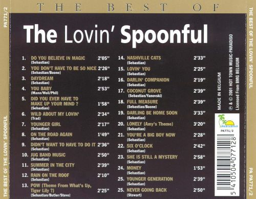 The Best of the Lovin' Spoonful [Paradiso]