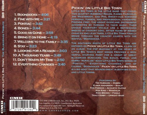 Pickin' on Little Big Town: The Bluegrass Tribute