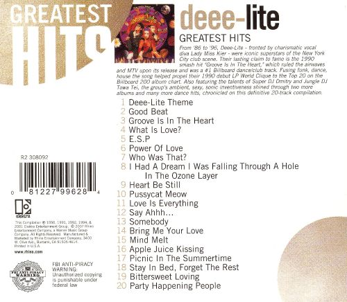 The Very Best of Deee-Lite [Rhino]