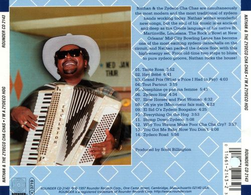 I'm a Zydeco Hog: Live at the Rock 'N' Bowl, New Orleans