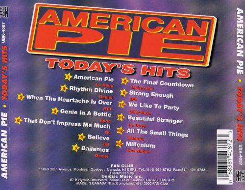 American Pie: Today's Hits