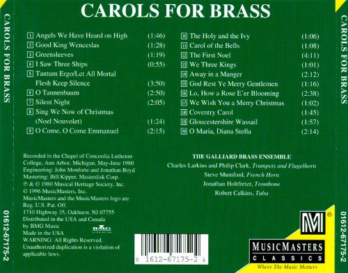 Carols for Brass