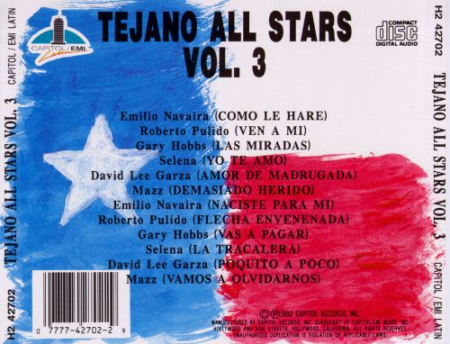 Tejano All Stars, Vol. 3