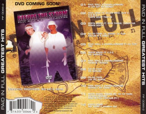 Paid in Full's Greatest Hits