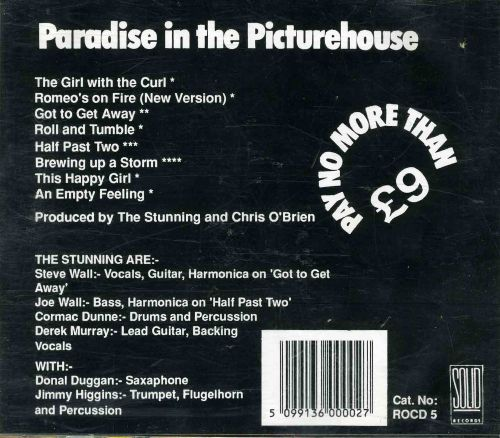 Paradise in the Picture House [8 tracks]