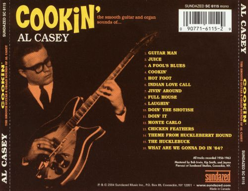 Cookin': The Smooth Guitar and Organ Sounds of Al Casey