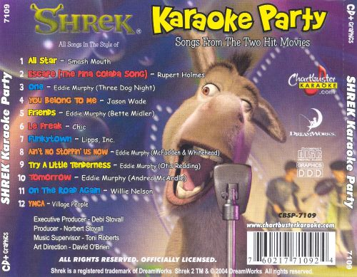 Chartbuster Karaoke: Shrek Karaoke Party
