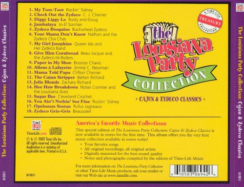 Louisiana Party Collection: Cajun and Zydeco Classics