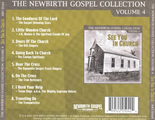 Newbirth Gospel Collection, Vol. 4: See You in Church