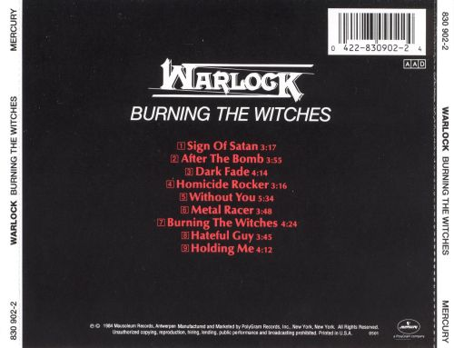 Burning the Witches