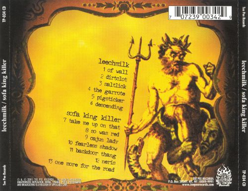 Leechmilk/Sofa King Killer [Split CD]