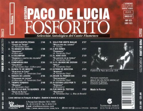 Anthology of Flamenco Songs