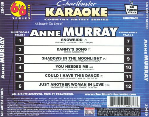 Anne Murray [2004]