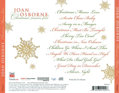 Christmas Means Love - Joan Osborne | Songs, Reviews, Credits ...
