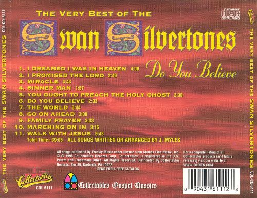 Do You Believe: The Very Best of the Swan Silvertones