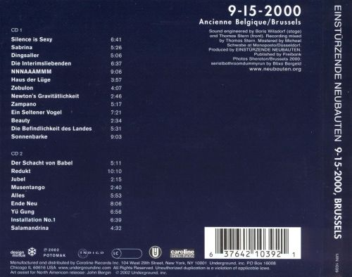 9-15-2000 Brussels