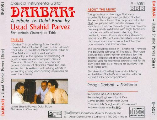 Darbari: A Tribute to Dulal Babu