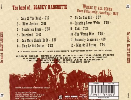 The Band of Blacky Ranchette