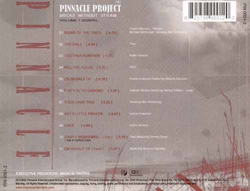 The Pinnacle Project: Bricks Without Straw, Vol. 1