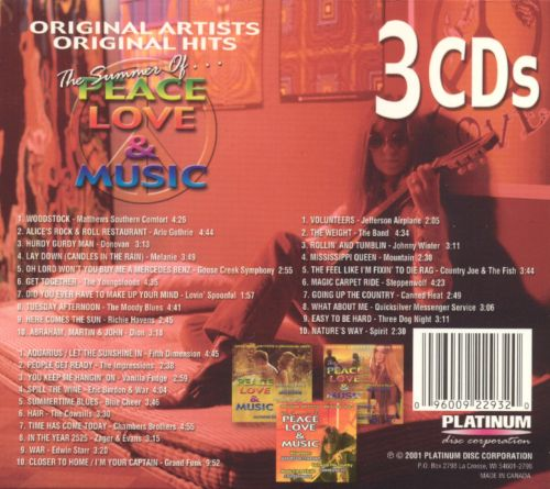Summer of Peace, Love and Music [3 CD]